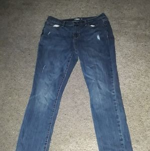 Old Navy skinny distressed Jean's